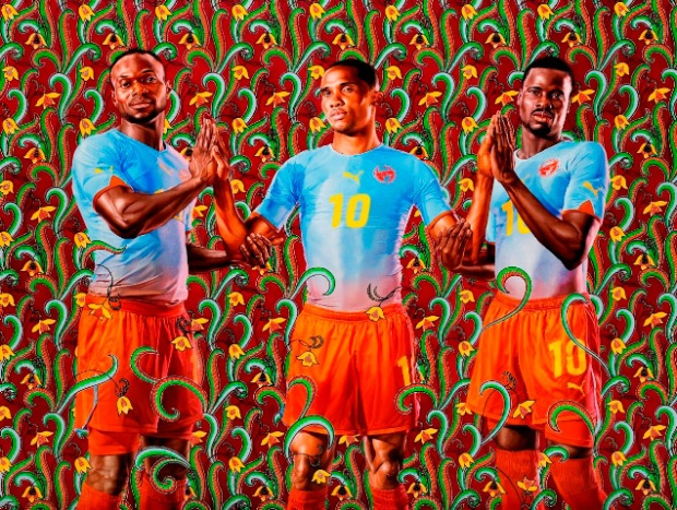 Kehinde Wiley, Unity Portrait, 2010