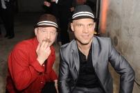 Elmar Bassen (rechts) und Hutpartner