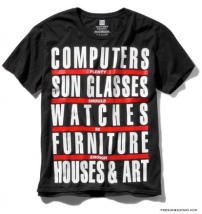T-Shirt von Barbara Kruger für GAP zur Whitney Biennial 2008