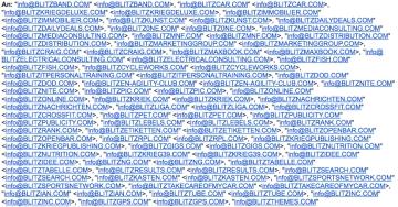 Email Blitz