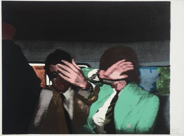 Stage Proof 18 1972 by Richard Hamilton 1922-2011