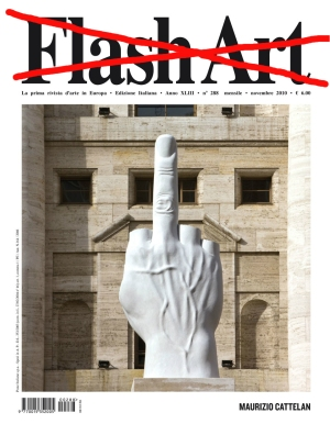 Flash Art Cattelan
