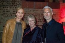Bettina von Maltzahn, Alanna Heiss, Klaus Biesenbach, photo© Kendall Waldman