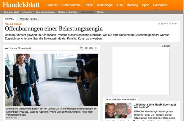 Handelsblatt Achenbach
