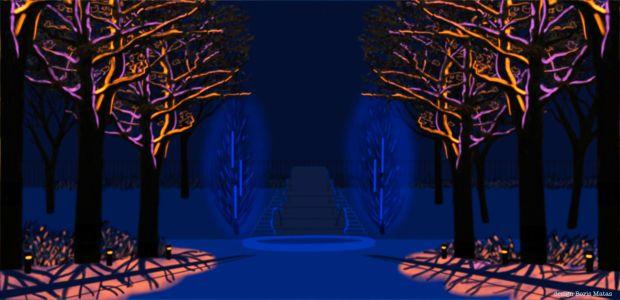 Illumination Körnerpark_Traumzeit
