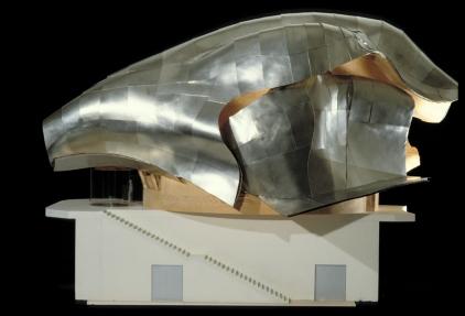 "Frank Gehry, finales ""Horse Head""-Modell DZ Bank, Berlin. ©Gehry Partners, LLP."