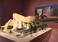 Frank Gehry, Modell Walt Disney Concert Hall, Los Angeles.