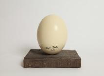 "Gavin Turk, ""Ostrich Egg"", 2011. ©gavinturk.com."
