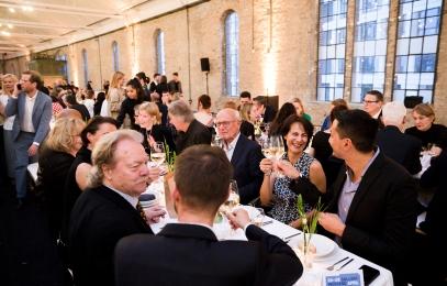Audemars Piguet Gallery Weekend Gala Dinner 2019 at Postbahnhof Berlin. Foto: David von Becker